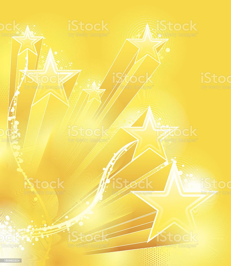 Star Background royalty-free stock vector art