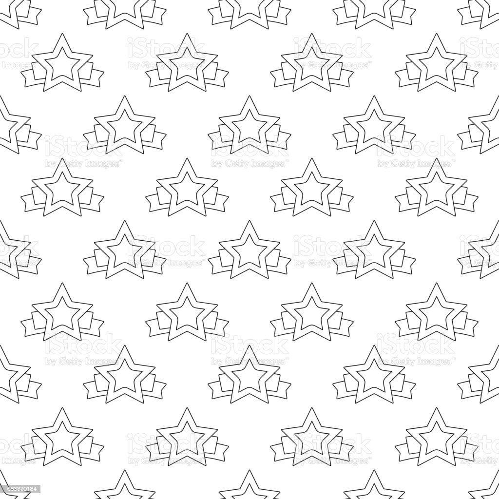 Star banner pattern seamless royalty-free star banner pattern seamless stock vector art & more images of adulation