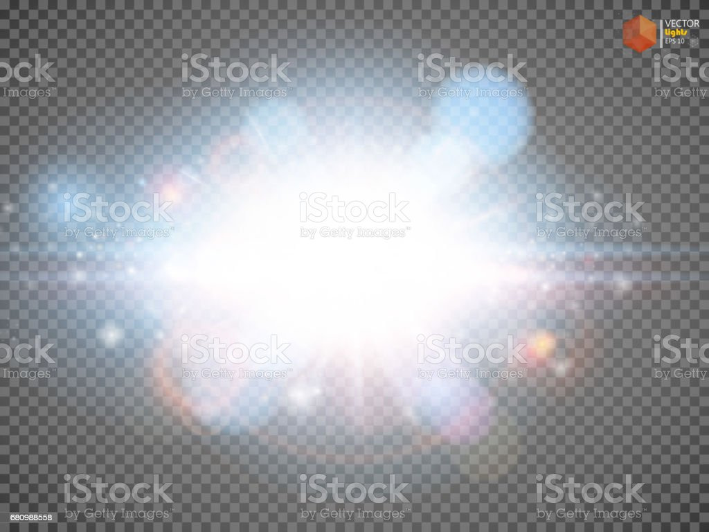 Star burst with sparkles. Light effect. Gold glitter texture. royalty-free star burst with sparkles light effect gold glitter texture stock vector art & more images of abstract