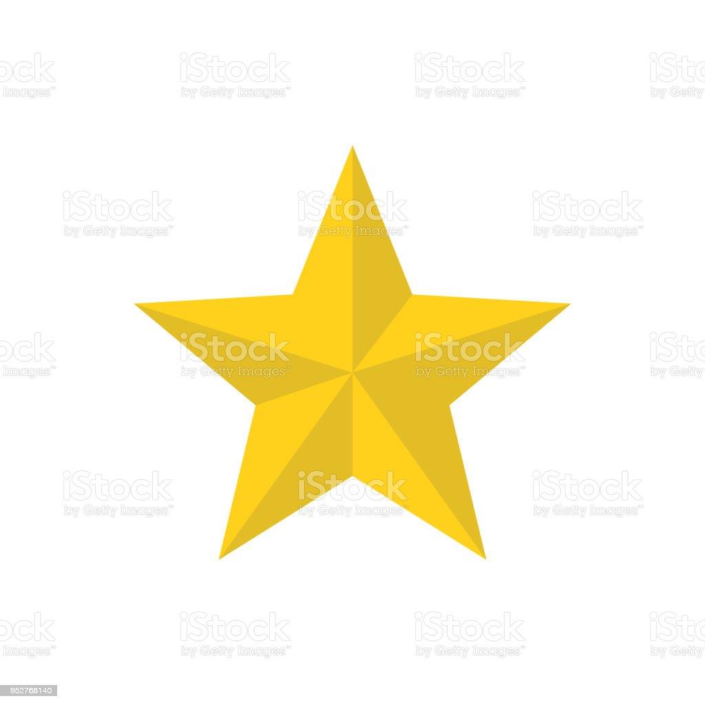 Ilustración de Estrellas Navidad Plano Vector Icono y más banco de ...