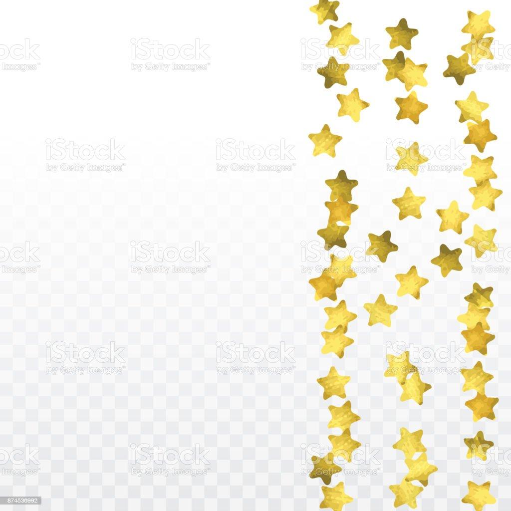 Transparent stars background