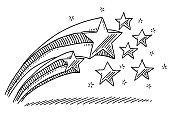 Star Decoration Drawing