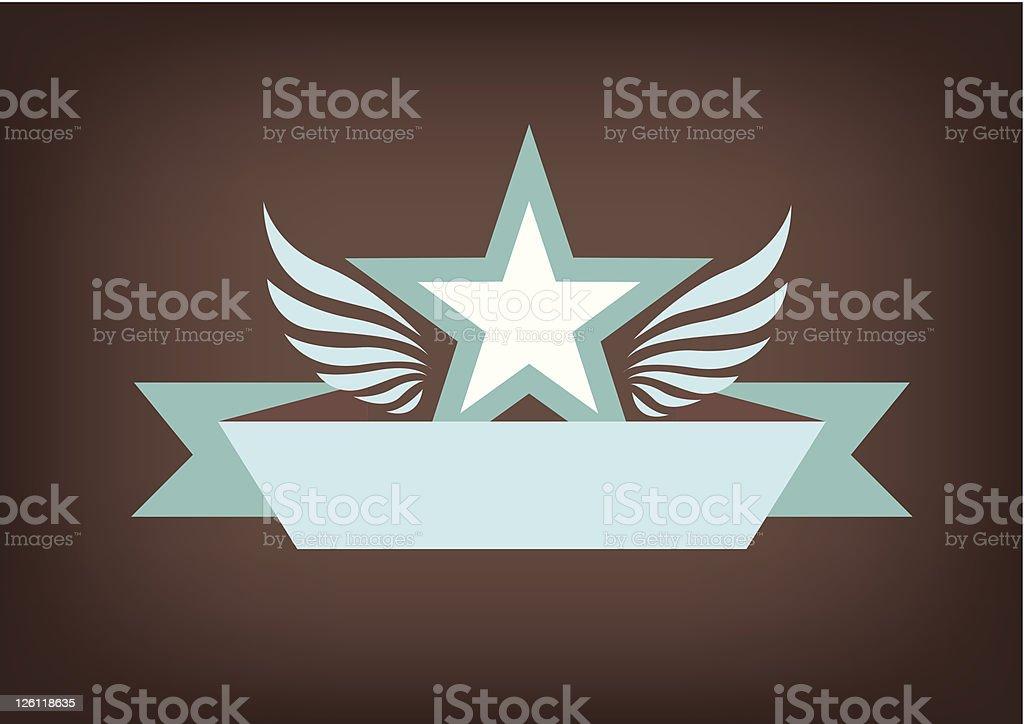 Star Emblem royalty-free stock vector art