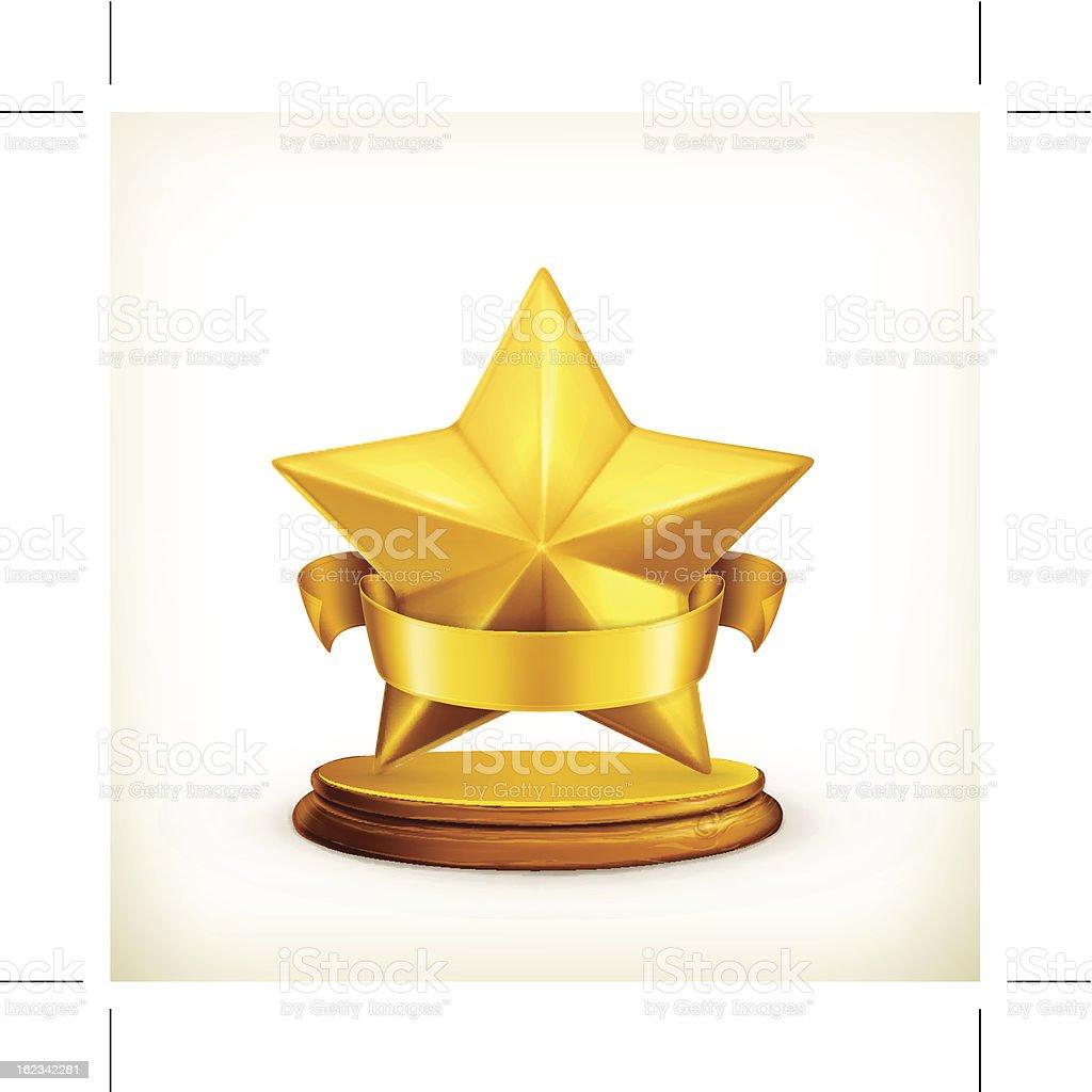 Star icon royalty-free stock vector art