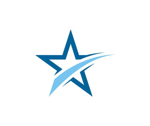 star icon - arts culture and entertainment stock illustrations, clip art, cartoons, & icons