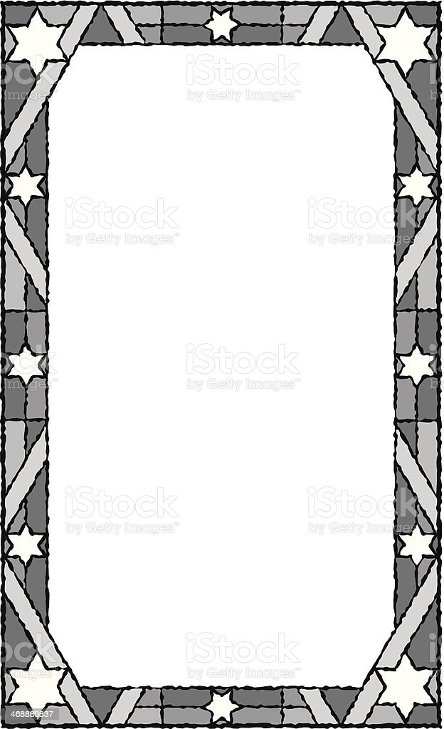 star of david frame stock vector art more images of copy space rh istockphoto com Polka Dot Border Clip Art American Flag Page Borders Clip Art
