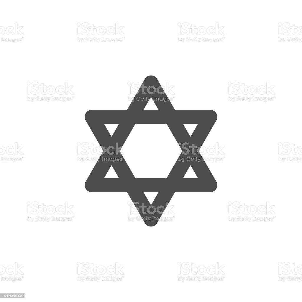 Star Of David Icon Elements Of Web Icon Premium Quality Graphic