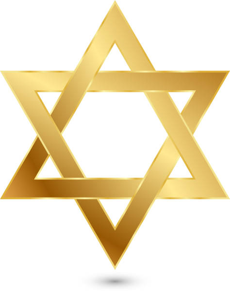 Star of David Star of David (Eps 10 +transparency effects used) star of david stock illustrations