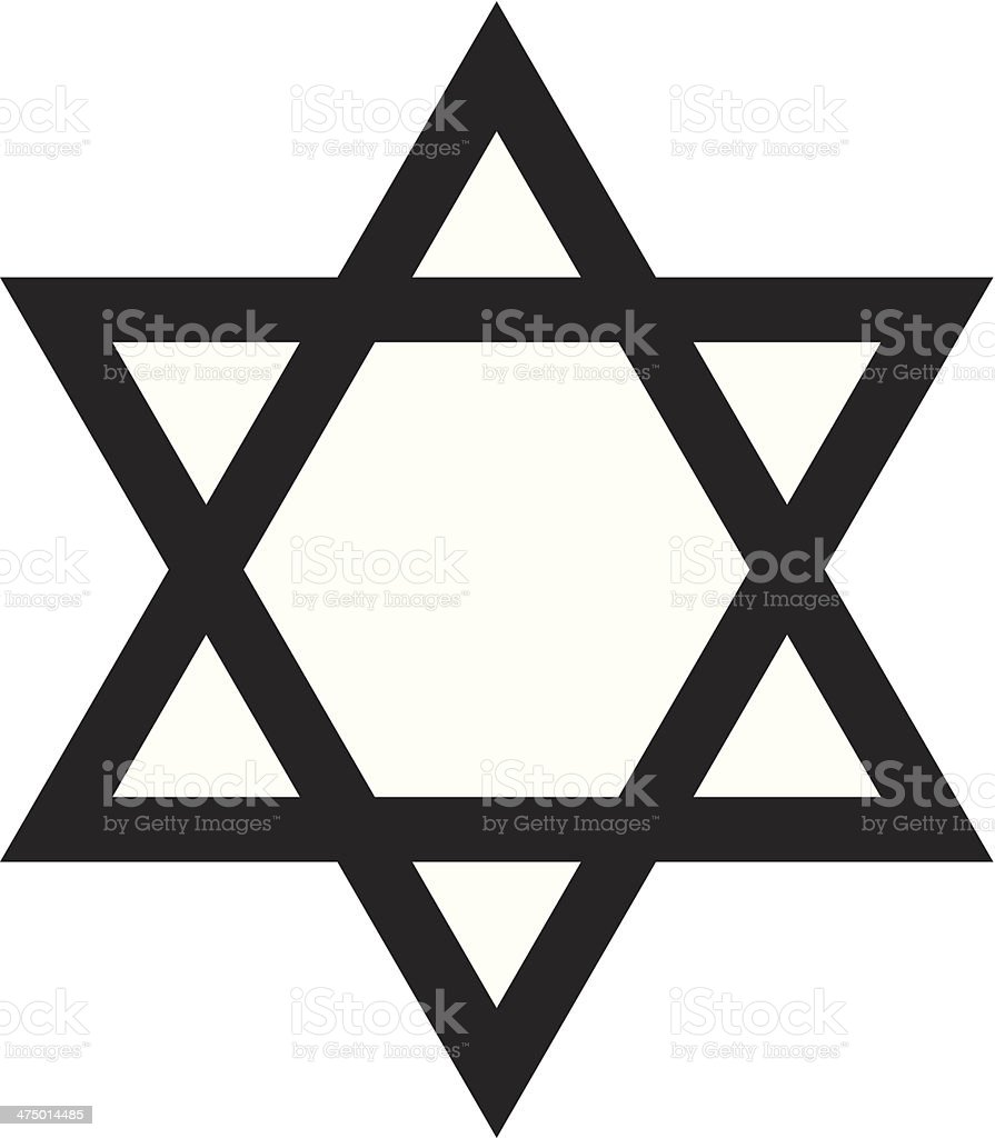 star of david stock vector art more images of cut out 475014485 rh istockphoto com Line Break Clip Art Super Star Clip Art