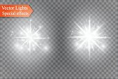 star on a transparent background,light effect,vector illustration. burst with sparkles.Sun.Special effect isolated on transparent background.spark