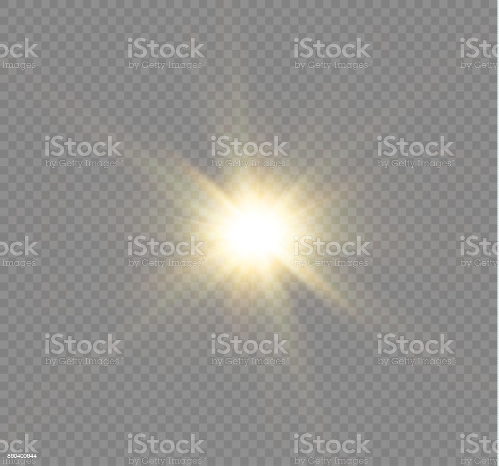 star on a transparent background,light effect,vector illustration. burst with sparkles royalty-free star on a transparent backgroundlight effectvector illustration burst with sparkles stock illustration - download image now