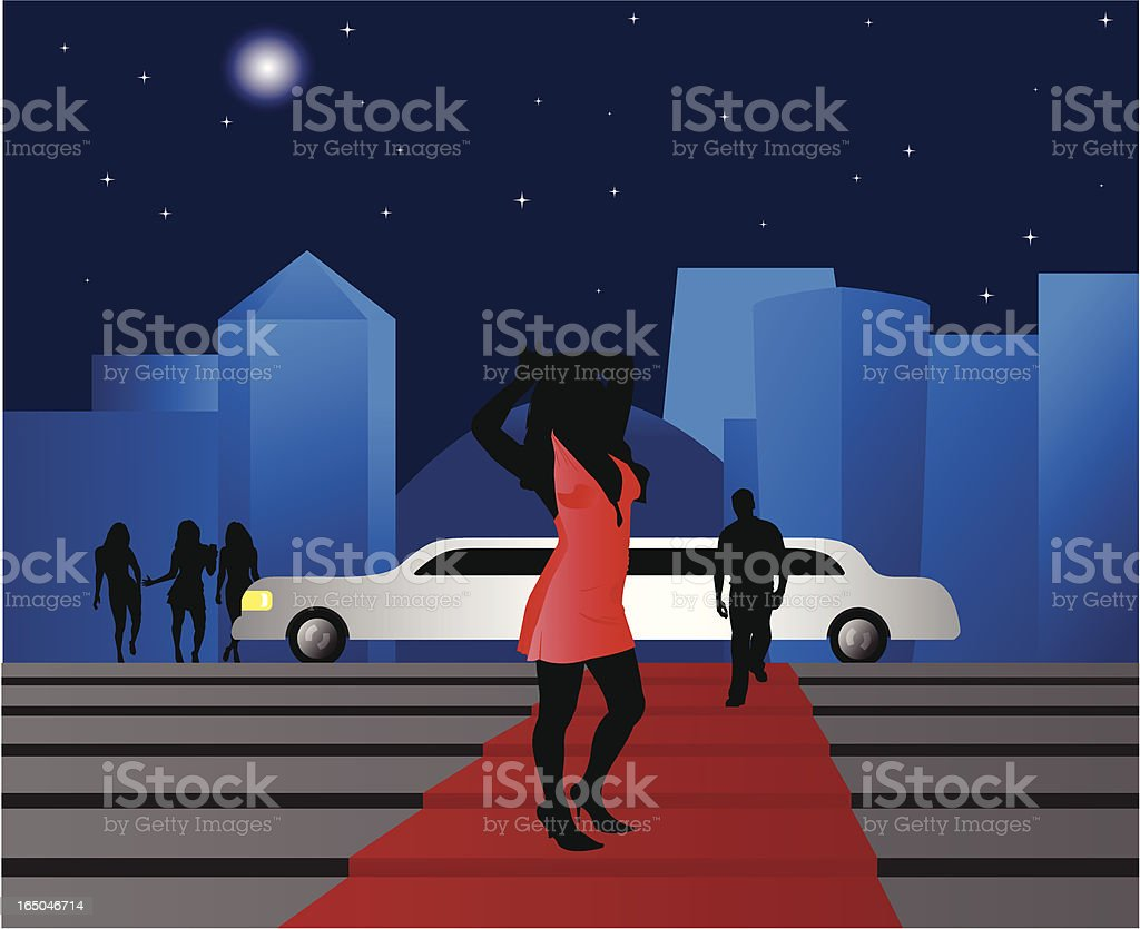 Star on Red Carpet royalty-free star on red carpet stock vector art & more images of actress