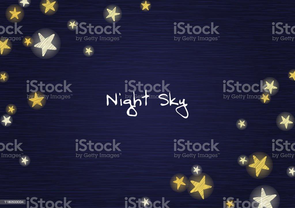 Stjärna på natthimlen Wood Board bakgrund vektor för dekoration på reklam design. - Royaltyfri Abstrakt vektorgrafik