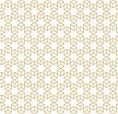 seamless arabic ornate geometric pattern background design