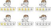 star review stickman set
