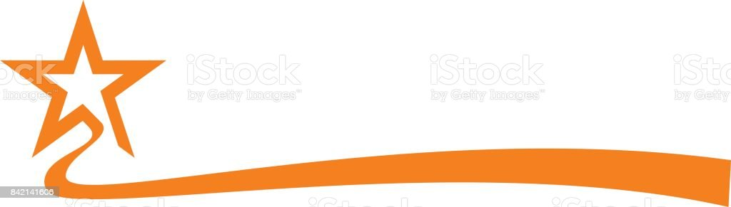 Star Ribbon royalty-free star ribbon stock illustration - download image now