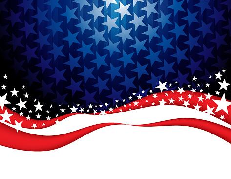 별 모양 추상적인 배경 US Republican Party에 대한 스톡 벡터 아트 및 기타 이미지