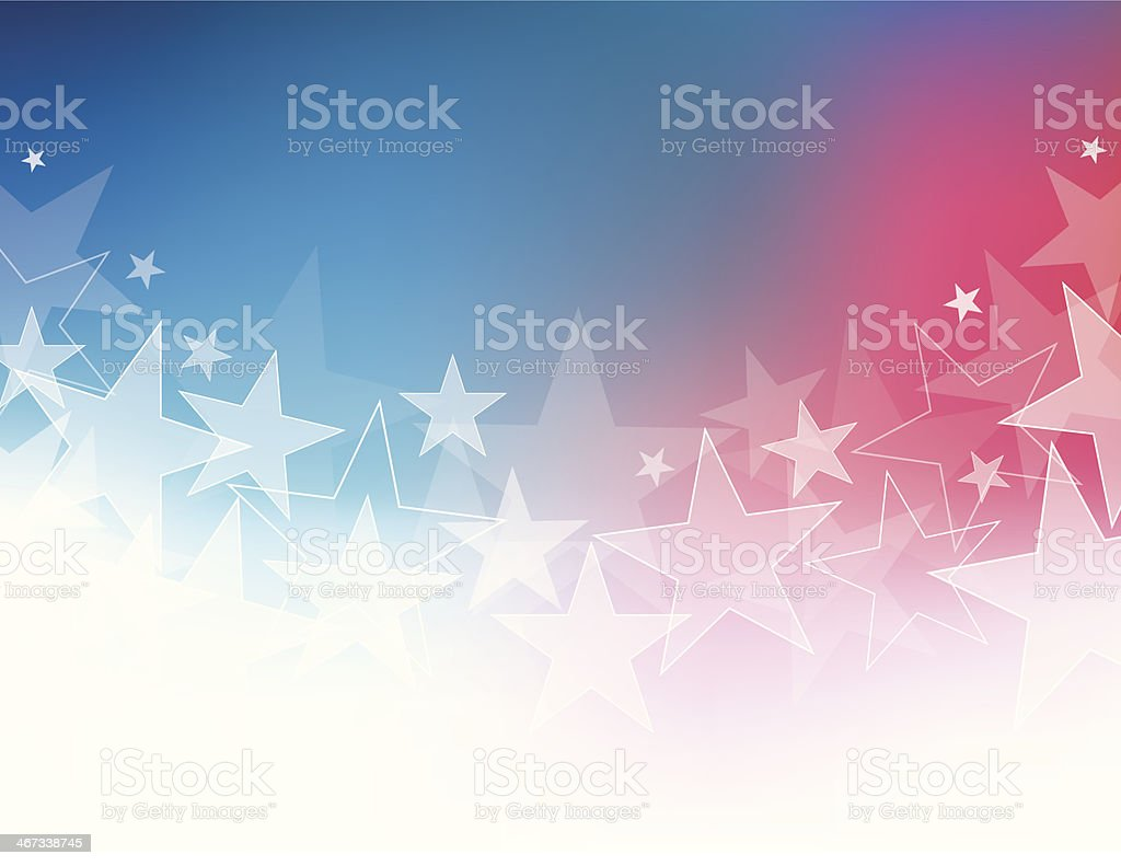 A star shaped abstract background royalty-free stock vector art