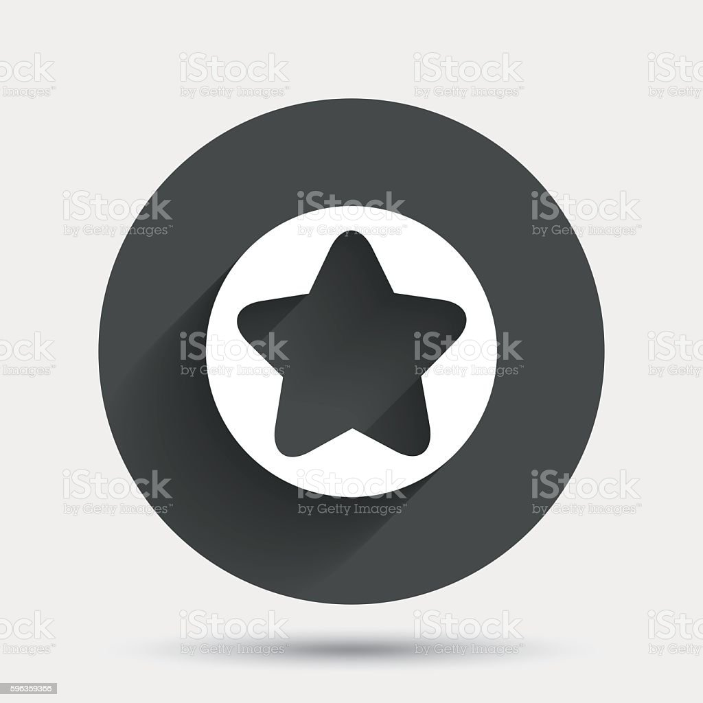 Star sign icon. Favorite button. Navigation royalty-free star sign icon favorite button navigation stock vector art & more images of achievement