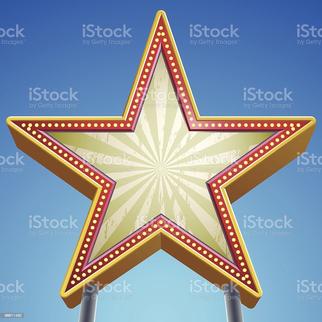 star sign - Royalty-free Clear Sky stock vector