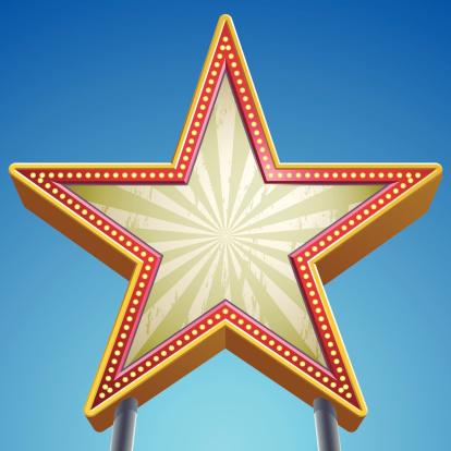 Star Sign-vektorgrafik och fler bilder på Berömmelse
