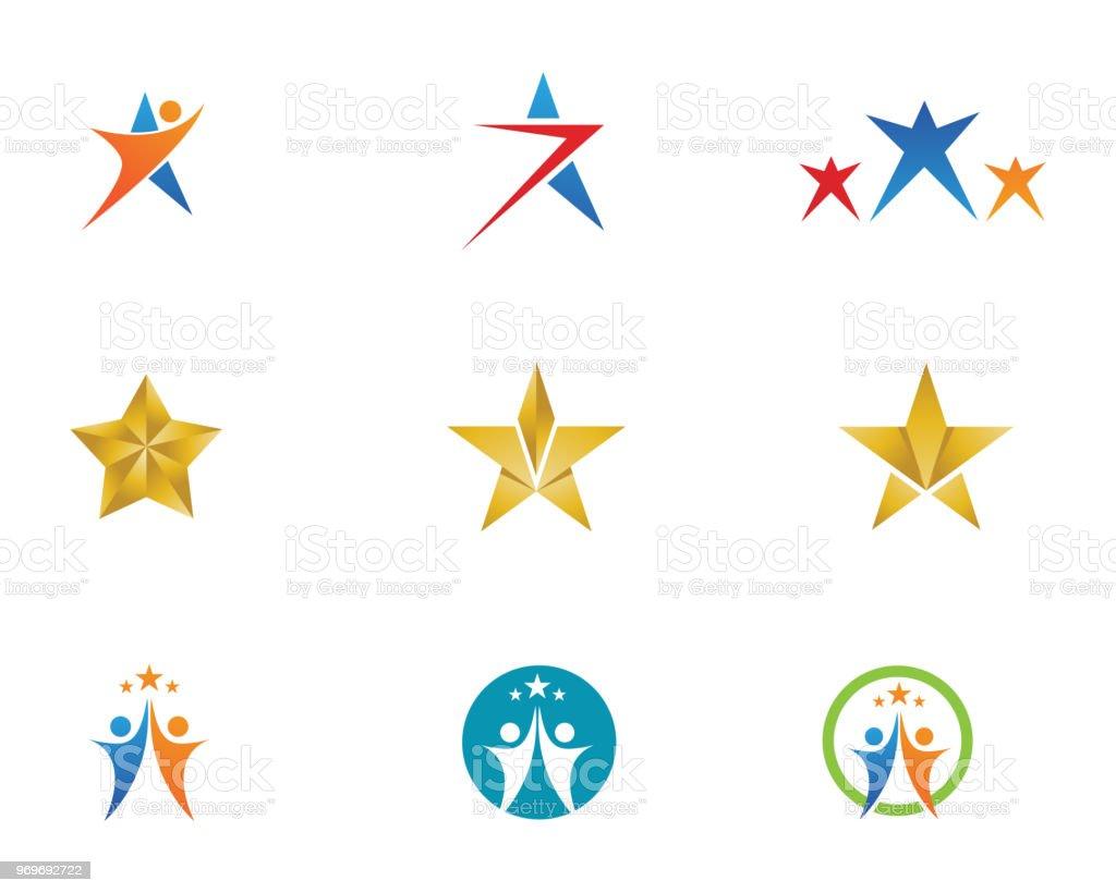 Star Success Vector Symbols Logo Stock Vector Art More Images Of