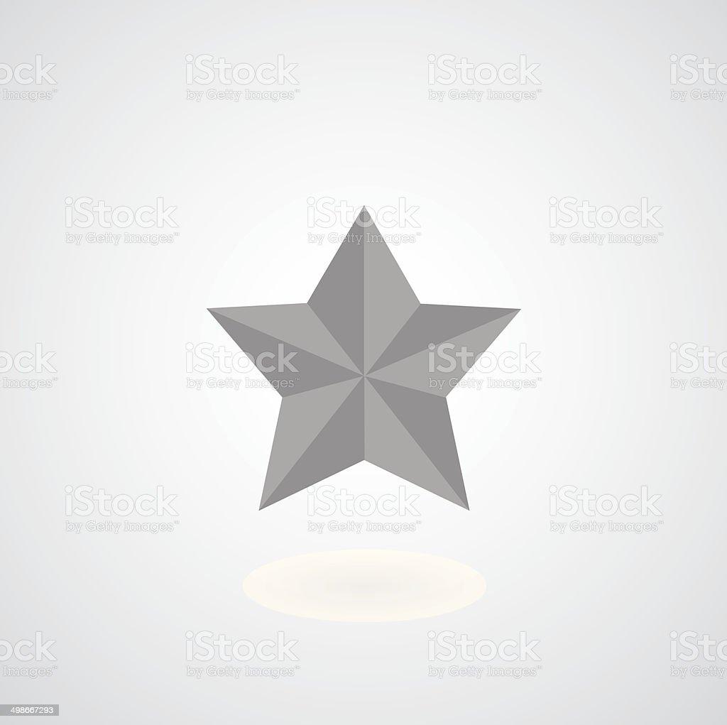 star symbol vector art illustration