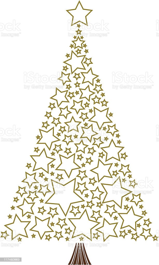 Star Tree royalty-free star tree stock vector art & more images of christmas