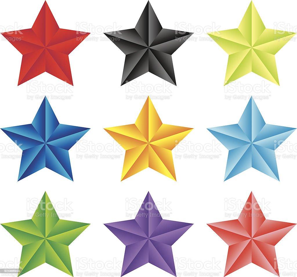star royalty-free stock vector art