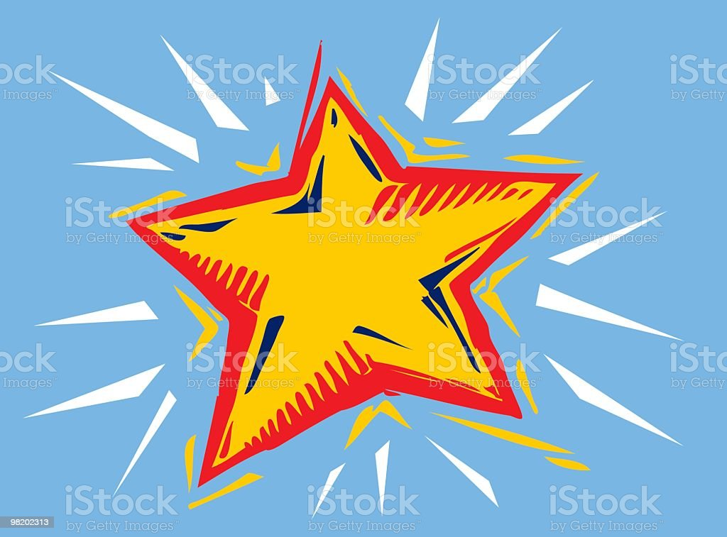 Star royalty-free star stock vector art & more images of blue