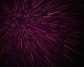 Star Warp Background