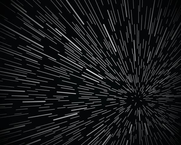 sterne warp space hintergrund - weltall stock-grafiken, -clipart, -cartoons und -symbole