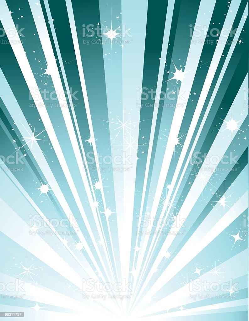 Starburst Sparkle Background royalty-free stock vector art