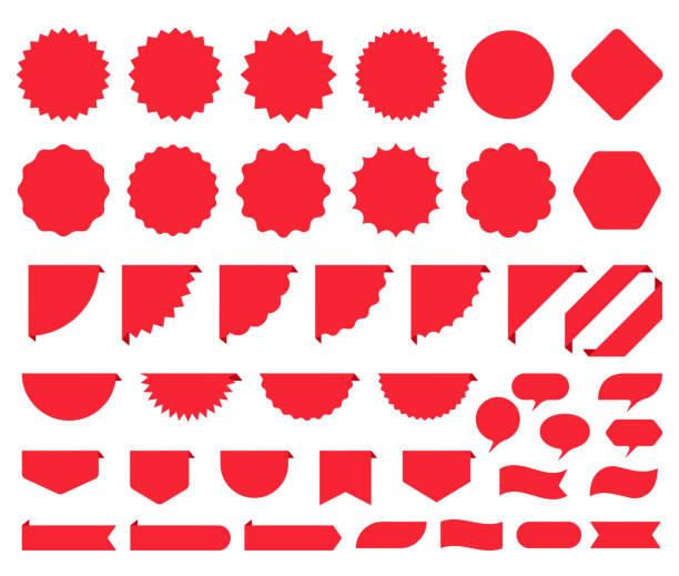 illustrazioni stock, clip art, cartoni animati e icone di tendenza di adesivi starburst. prezzo scoppio promo scatola. illustrazione vettoriale. - sales