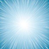 Detailed vector starburst illustration.