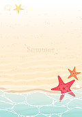 istock Starfish and sea shell on summer beach background vector for decoration on summer season events. 1179318202