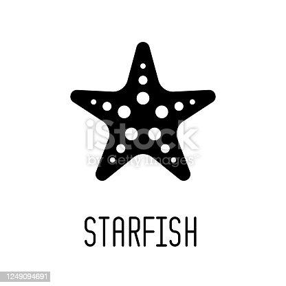 istock Starfish icon 1249094691