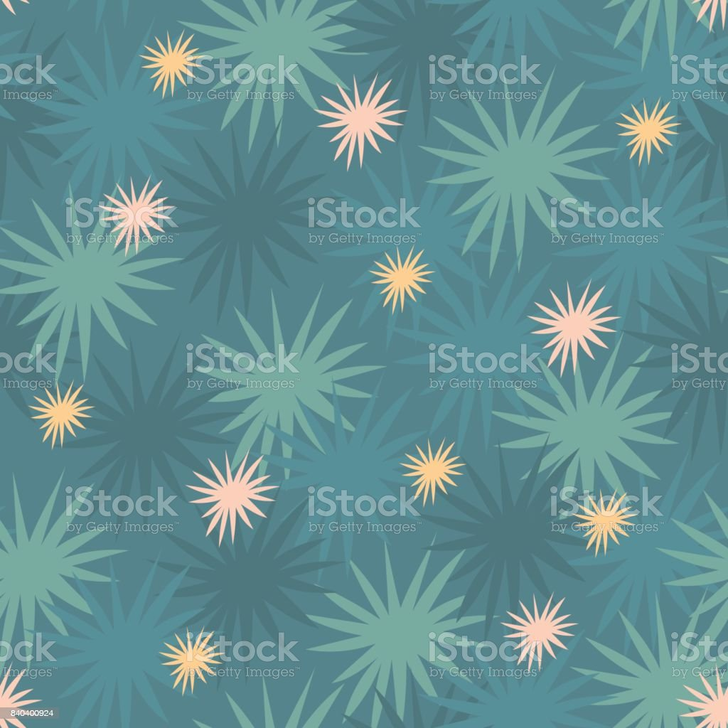 Starry floral abstract flash flare seamless pattern royalty-free starry floral abstract flash flare seamless pattern stock vector art & more images of abstract