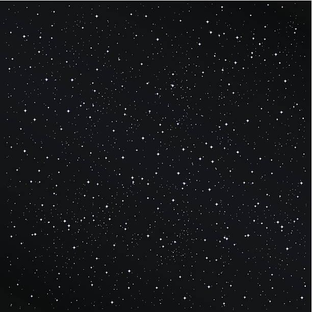 illustrations, cliparts, dessins animés et icônes de fond de nuit étoilée - ciel etoile