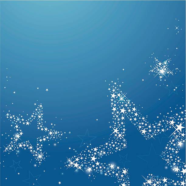 gwieździsta noc (z kopii przestrzeni - holiday background stock illustrations