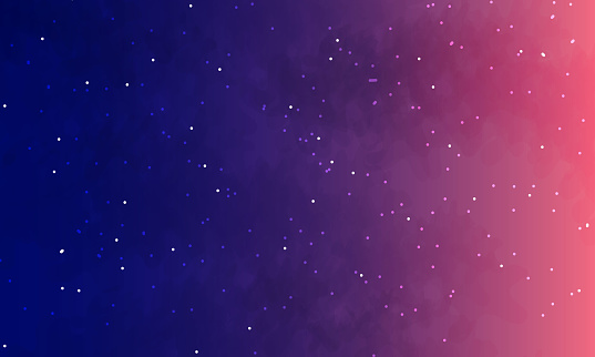 starry sky. Space vector background.