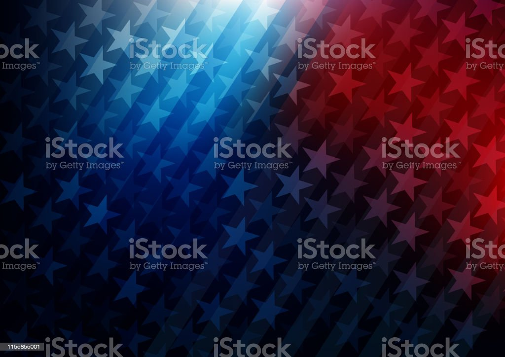USA stars and stripes background Vector illustration of USA stars and stripes background. EPS Ai 10 file format. American Flag stock vector