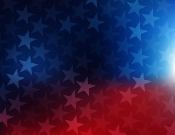 abd yıldız ve çizgili arka plan - american flag stock illustrations