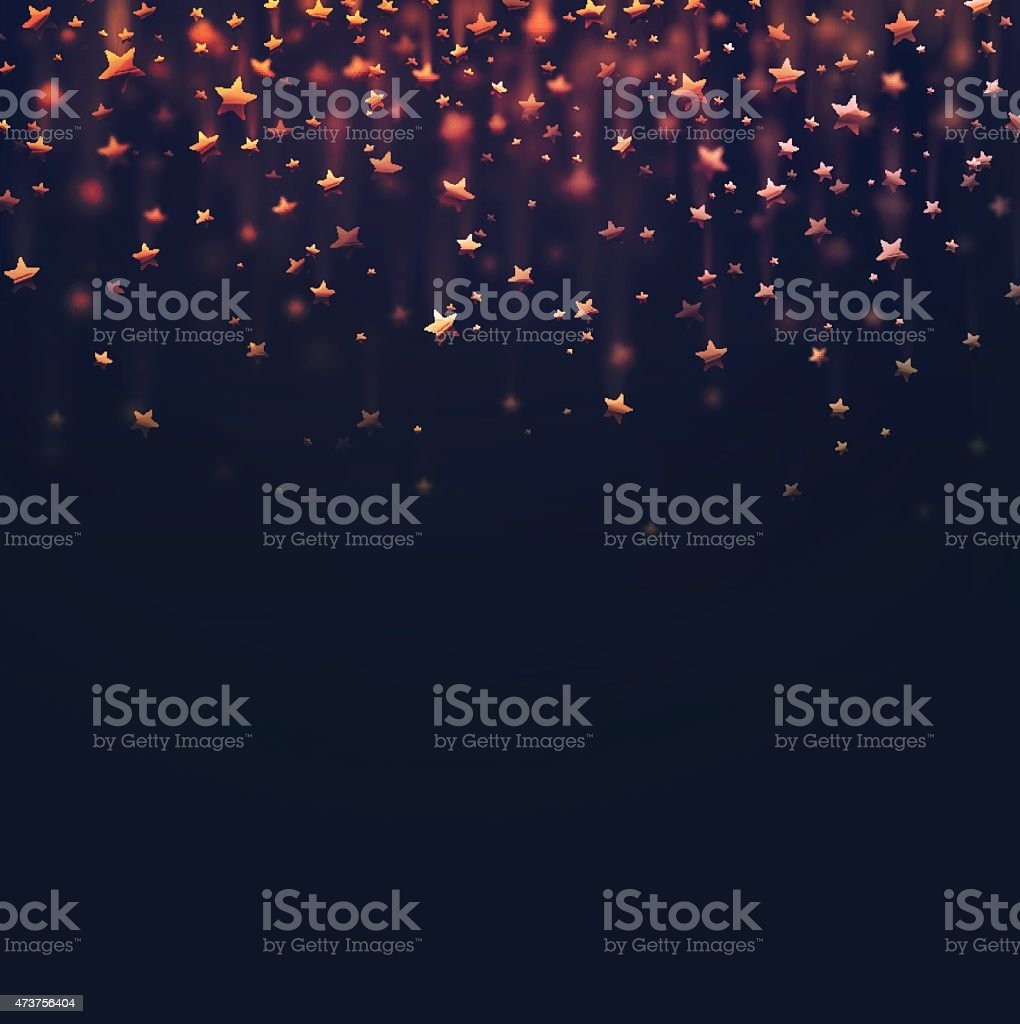 Stars Background vector art illustration