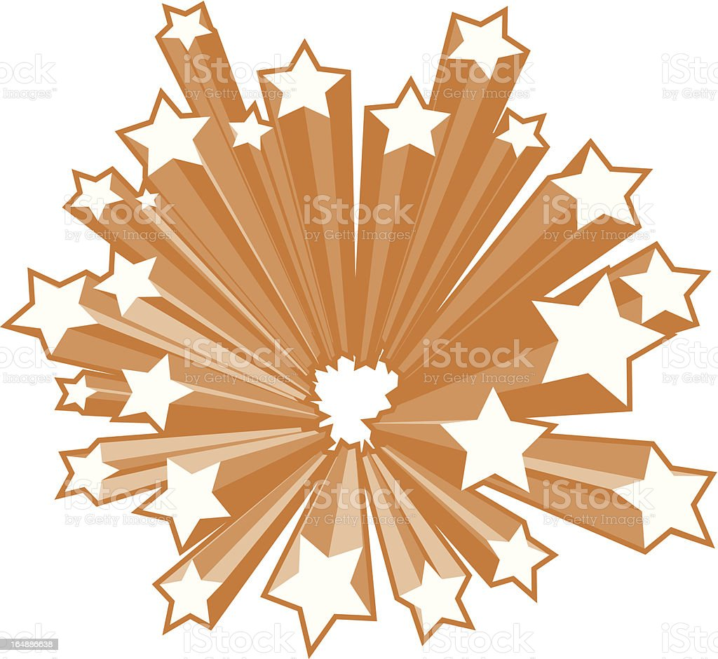 Stars Emerge royalty-free stars emerge stock vector art & more images of 1970-1979