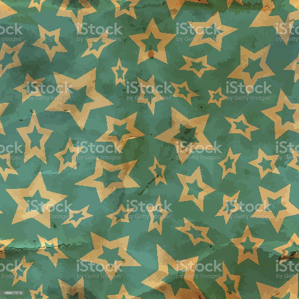 Stars. Seamless pattern. vector art illustration