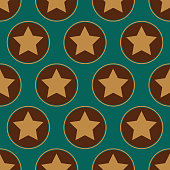 Stars seamless pattern