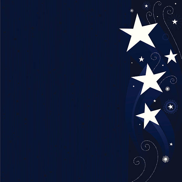 Stars vector background vector art illustration