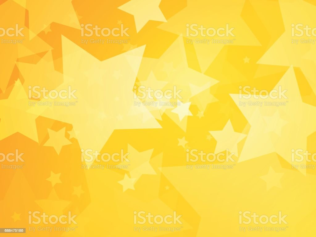 星黄色の背景 のイラスト素材 688475186 | istock