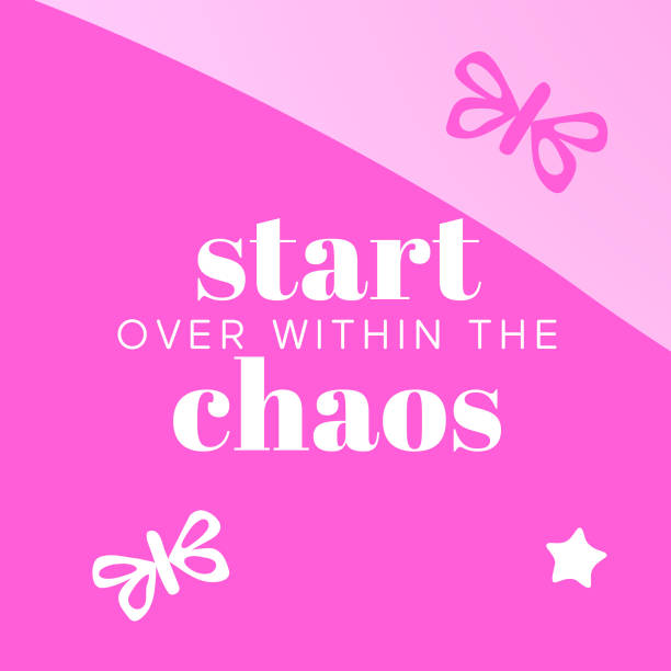 Start over within the chaos – Nine uplifting truths while you're at your most vulnerable Nine uplifting truths while you're at your most vulnerable you re awesome stock illustrations